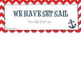 Class Location Sailing Theme
