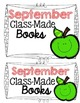 Class-Made Books: Back to School Edition (August-September)