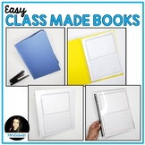 Class Made Books EASY Writing Activities