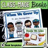 Class Books for Preschool and Kindergarten