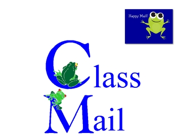 Class Mail Sign with FROG theme