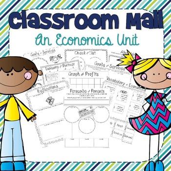 Class Mall: An Economics Unit (Freebie)