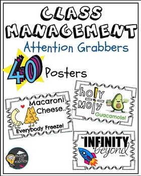 Class Management: Attention Grabbers (posters)
