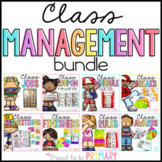 Class Management Bundle (Jobs, Coupons, Transitions, Brain Breaks, and MORE)