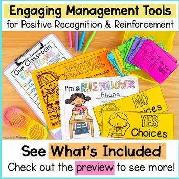 Classroom Management: Class Jobs, Reward Coupons, Transitions, Brain Breaks+