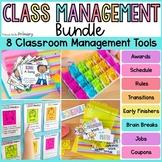 Classroom Management Bundle: Jobs, Coupons, Transitions, B