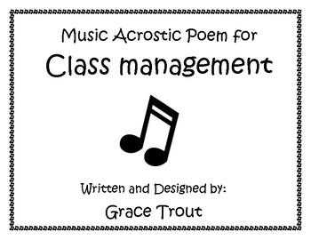 Class Management for Music Class