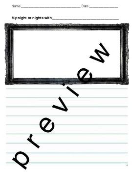 Class Mascot Class Book Writing Journal Editable
