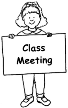 Class Meeting Agenda Template By Stokley S Smarties Tpt