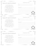Class Meeting Compliment Cards FREEBIE!