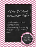Class Meeting Discussion Pack
