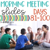 Class Meeting Ideas- Slides 81-100   Social-Emotional Lear