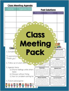 Class Meeting Pack