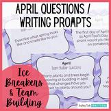 Class Meeting Questions: April