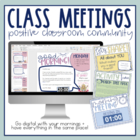Class Meetings - Build a Positive Classroom Community!