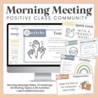 Class Meetings - Build a Positive Classroom Community!