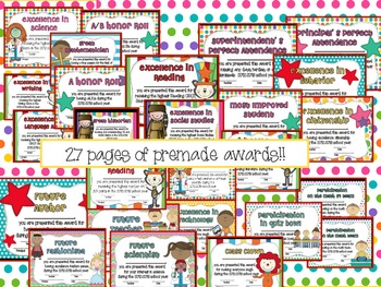 Class Memory Book and Awards: School's Out for the Summer!