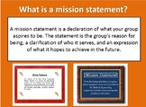Class Mission Statement and Logo Activity