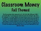 Class Money - Fall