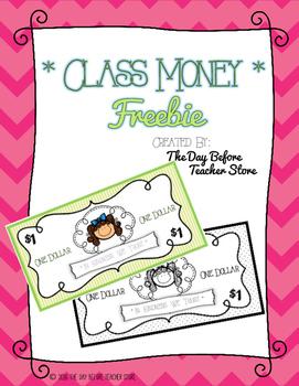 Class Money Freebie