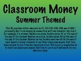 Class Money - Summer