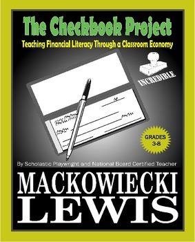 Class Money: The Checkbook Project class economy financial literacy