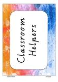 Class Monitors - Labels