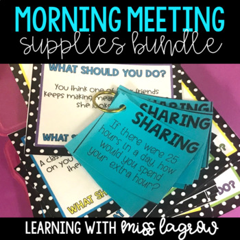 Class Morning Meeting Bundle