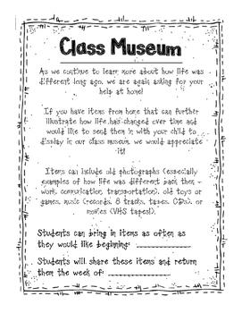 Class Museum pack