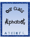 Class Name Alphabet Book