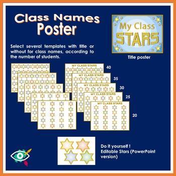 The stars of my class