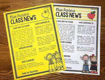 Newsletter Template Editable Free (Digital & Printable)