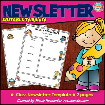 Newsletter Template {Editable Powerpoint}