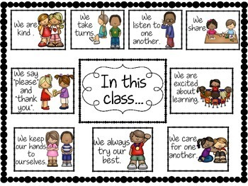 Class Norms- Creating Positive Class Culture- Back to School