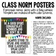 Class Norms Posters and Table Toppers