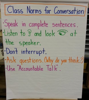 Class Norms for Conversation