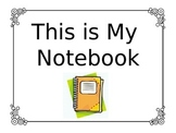 Interactive Notebook Orientation PowerPoint