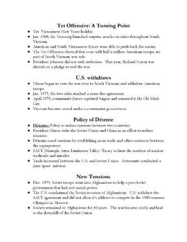 Class Notes & Study Apps for 8th Grade Social Studies
