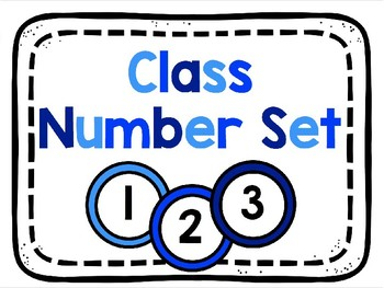 Class Number Set