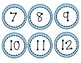 Class Numbers 1-30 (Brights & Polka Dots)