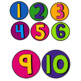 Bright and Colorful Class Numbers