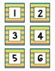 Class Numbers - School Kids Stripe (1-36)