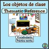 Class Object Vocabulary Thematic Reference - El vocabulario de objetos de clase