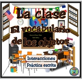 Class Object Vocabulary Thematic Reference / El vocabulari