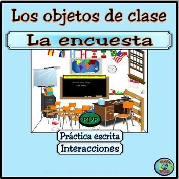 Class Object Survey Activity / Encuesta de objetos. ¿Qué h
