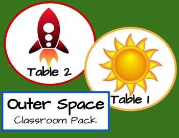 Class Pack - Space Themed Bundle