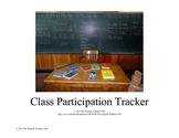 Class Participation Tracker