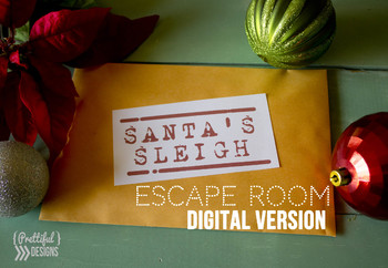 Class Party Christmas Escape Room Challenge Game