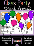 Class Party Excel Project