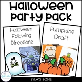 Class Party Pack - Halloween
